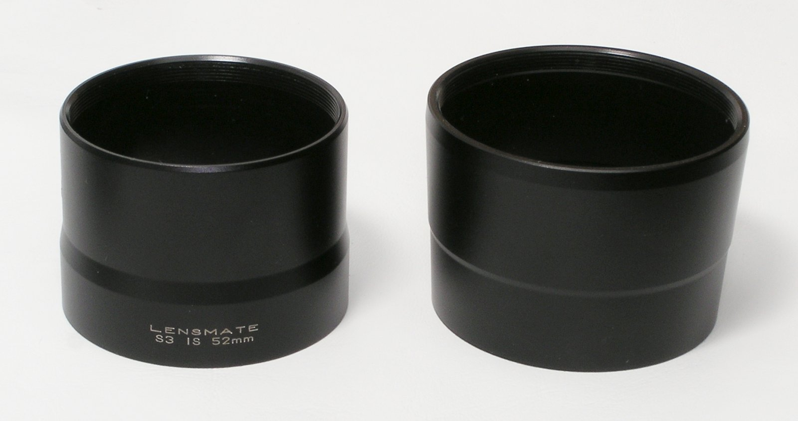 LensMate 52mm Adapter and LensMate 58mm Adapter